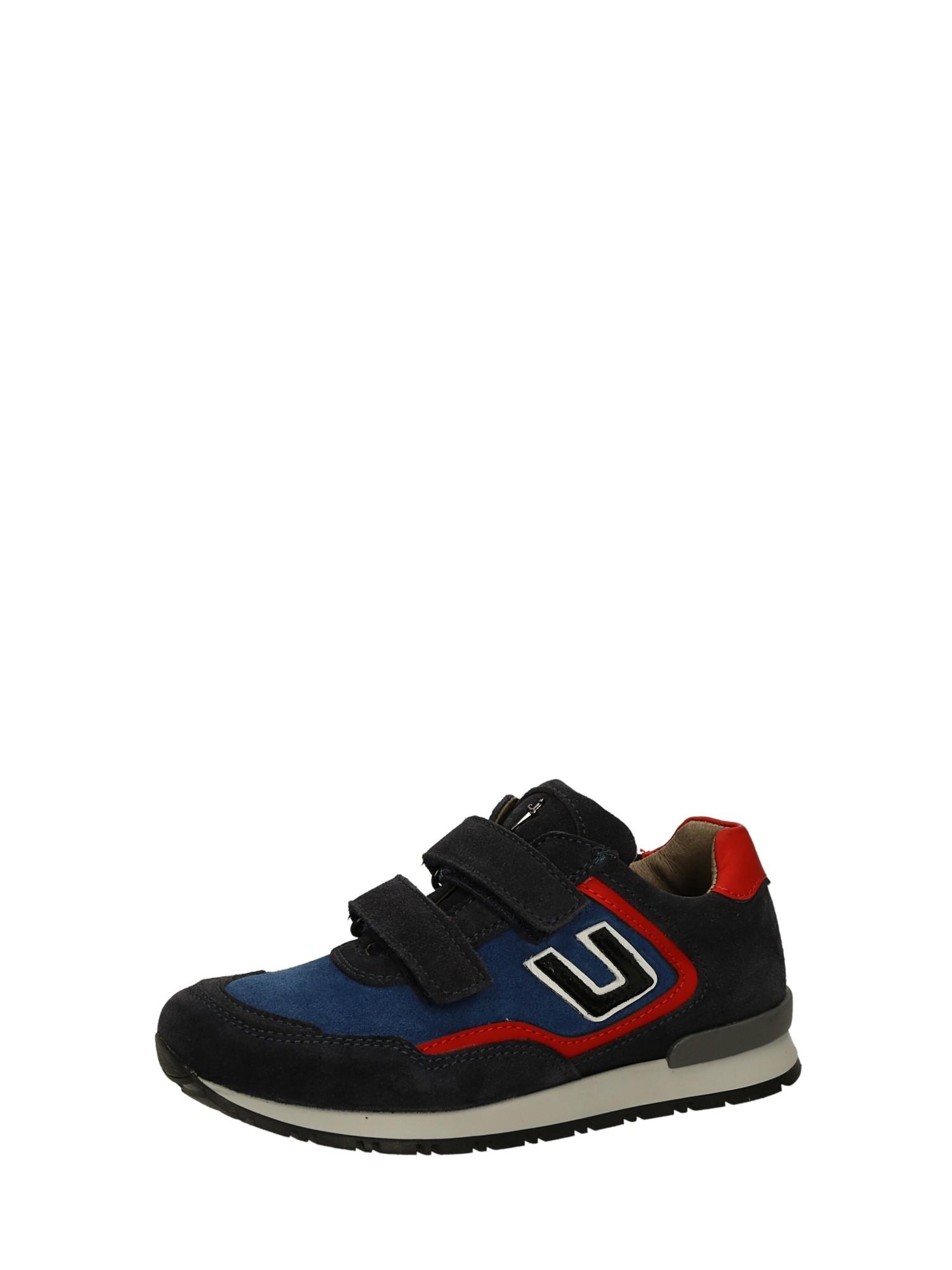 Cesare Paciotti 4us 33842 Blu rosso Scarpe Bambino Sneakers b2e8d2a9587