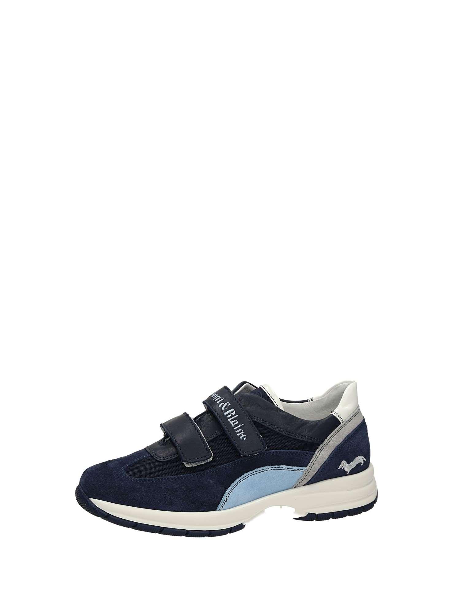 Sneakers-Strappo-Bambino-Harmont-amp-blaine-J9041-Primavera-Estate