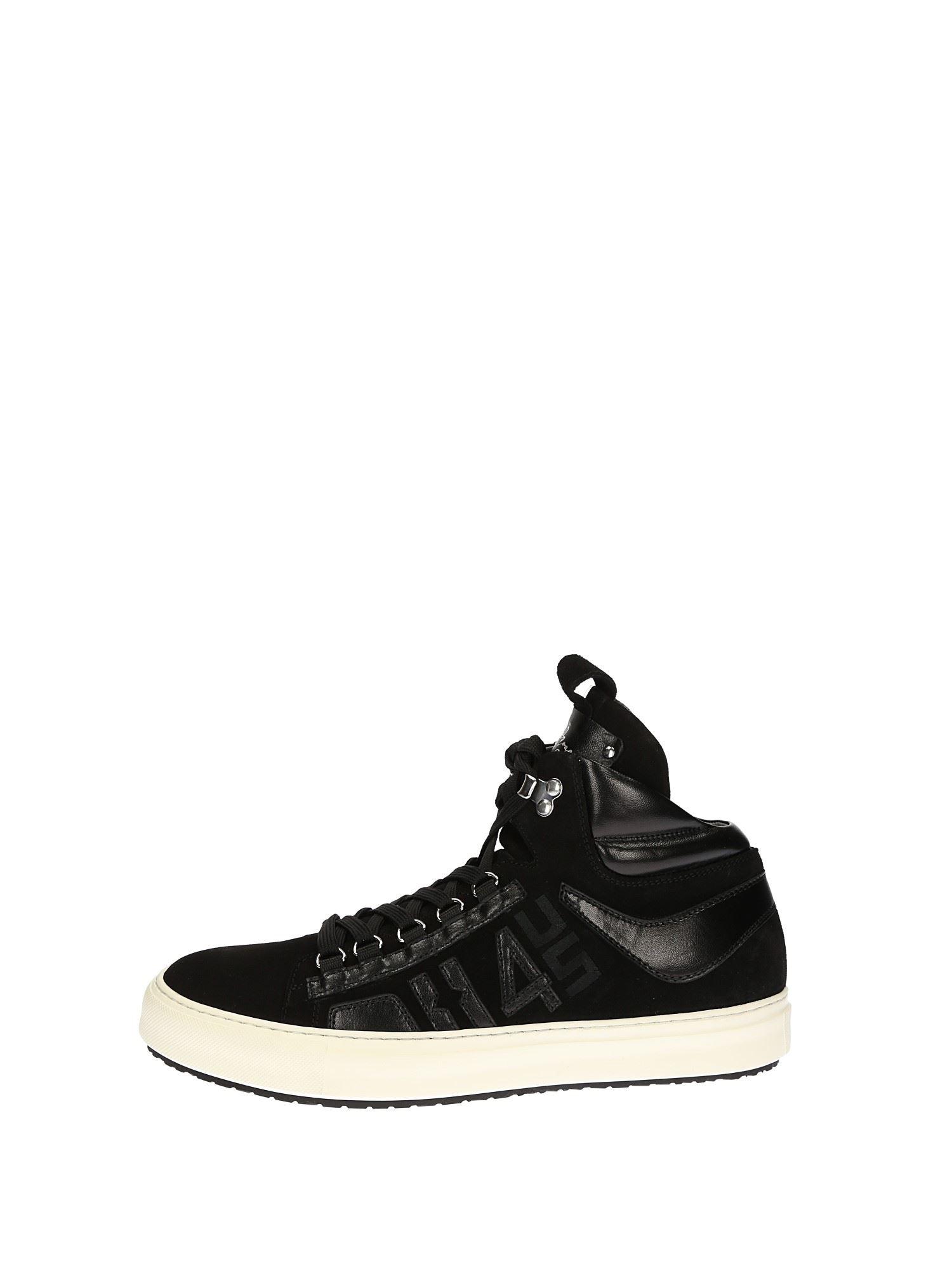 b10c054263 Cesare Paciotti Sneakers Alte Uomo Nero | Lalilina