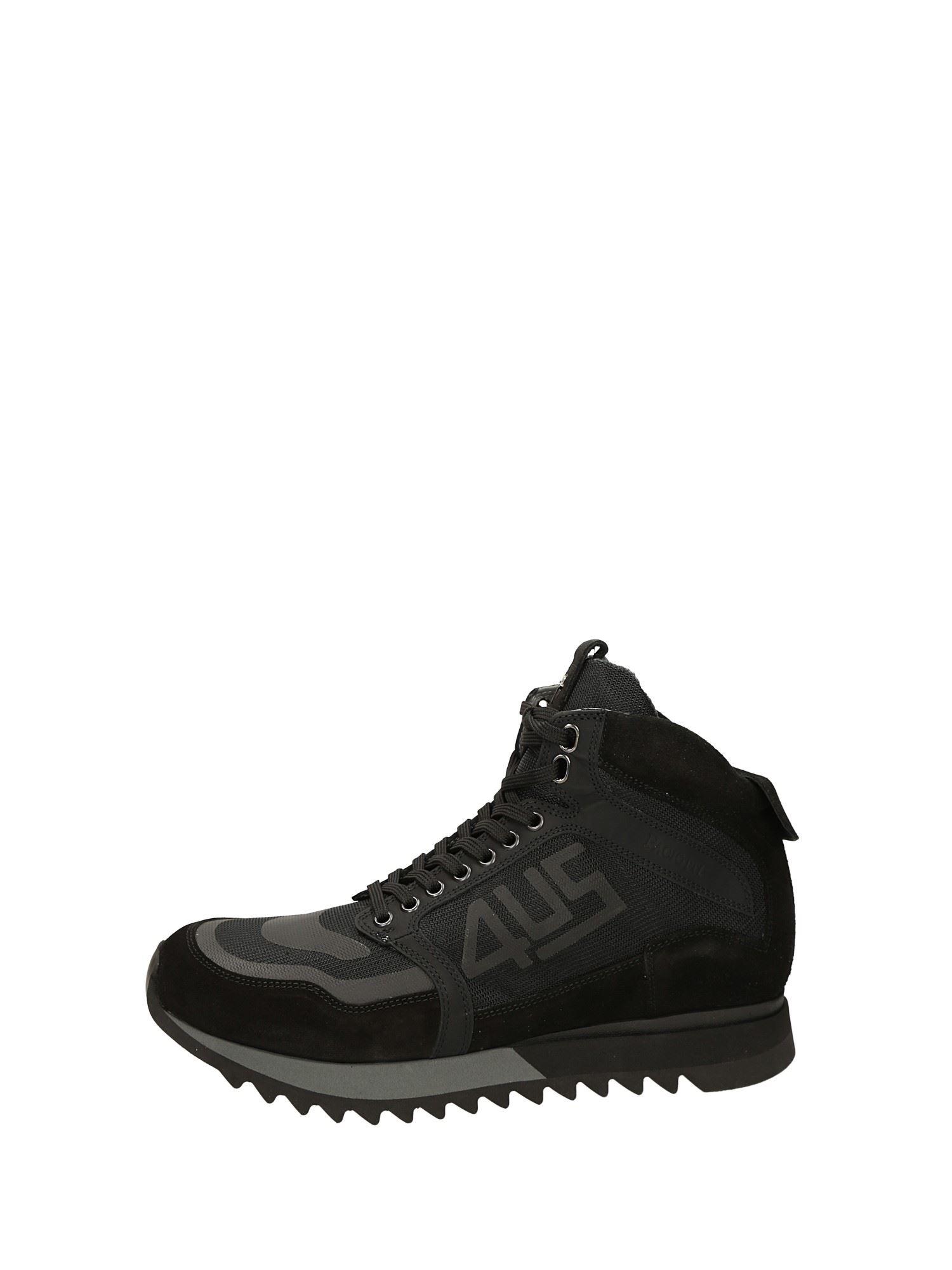 Paciotti Alte Cesare 50Camoscio Sneakers NeroUomo N8vm0wn