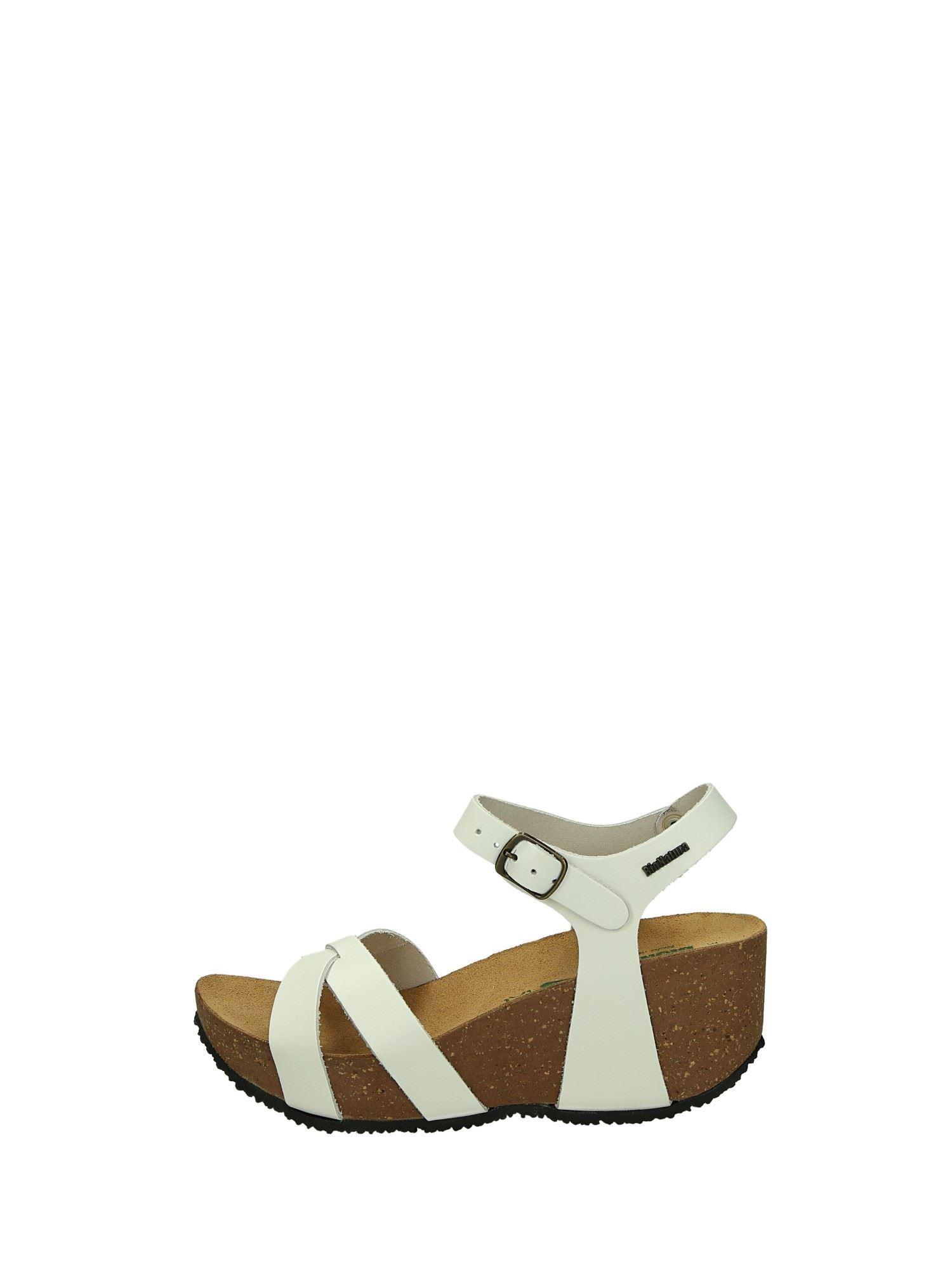 Bionatura FREGENE Bianco Scarpe Donna Sandali 6f5026c1fad