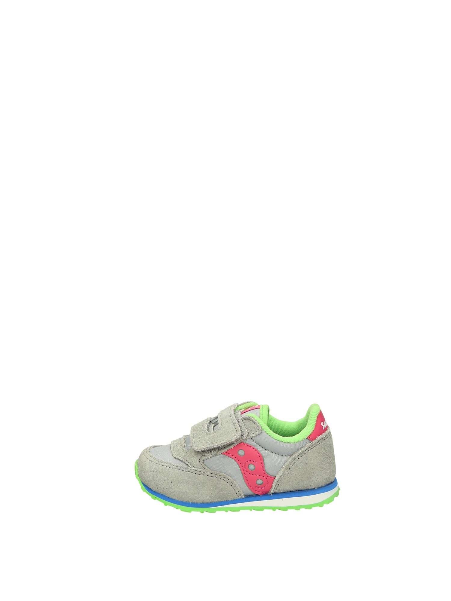 Saucony JAZZ BABY Grigio Rosa Scarpe Bambina Sneakers ac58ab35eea