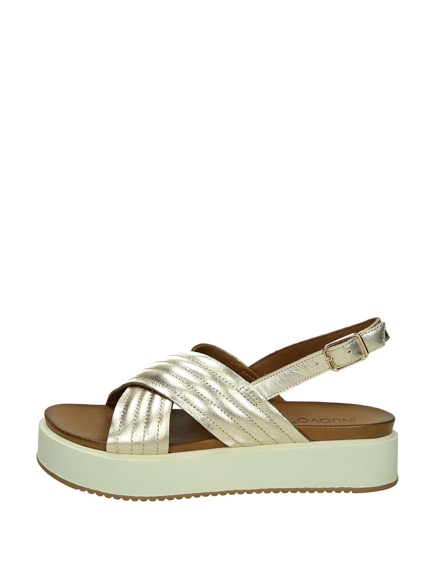 Sandali bianchi con allacciatura elasticizzata per unisex YDLZ2YT
