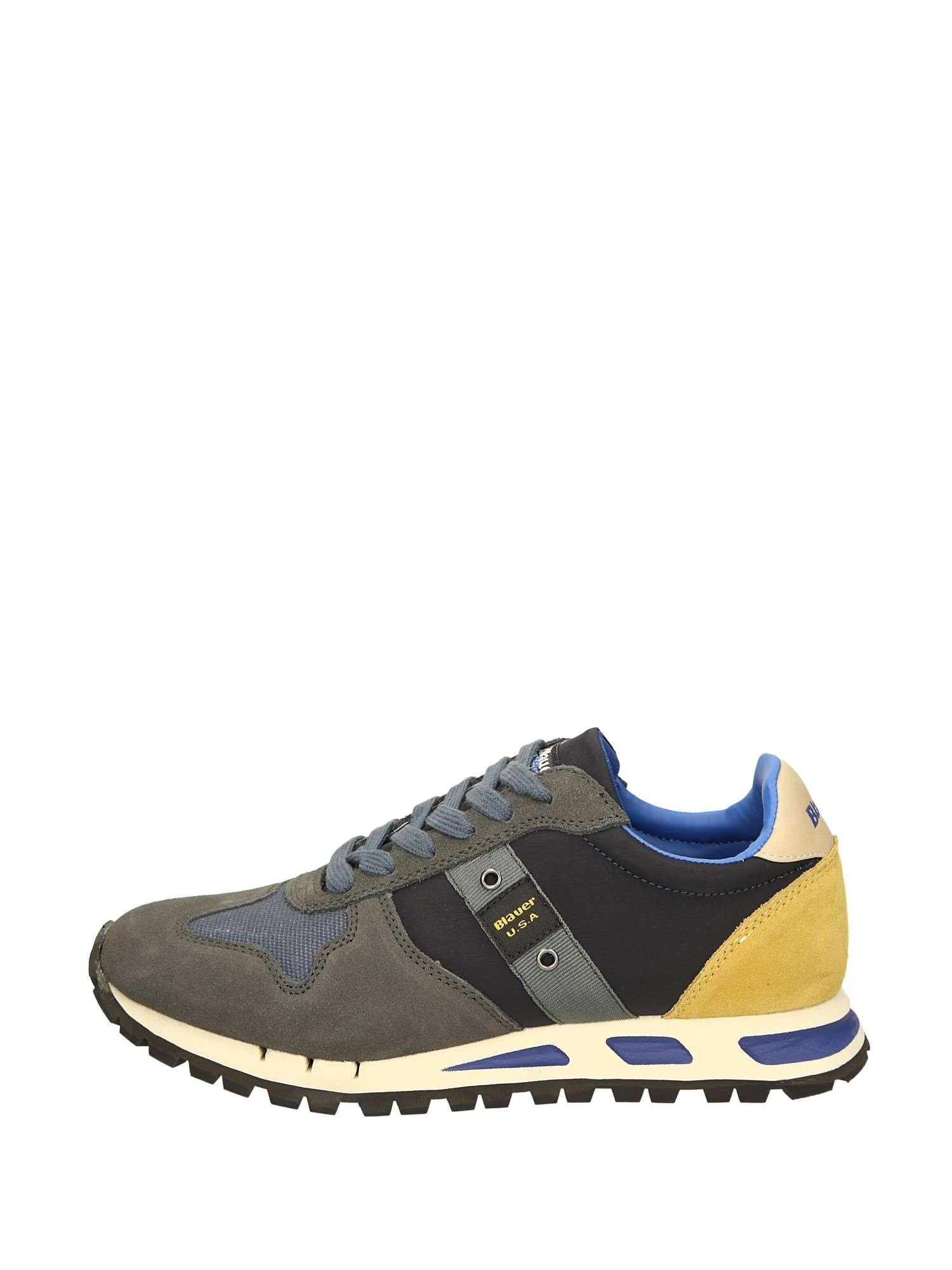 Camoscio Sneakers Blauer Uomo Blu 30 Basse 50 gwqpA 7e4e8de6461