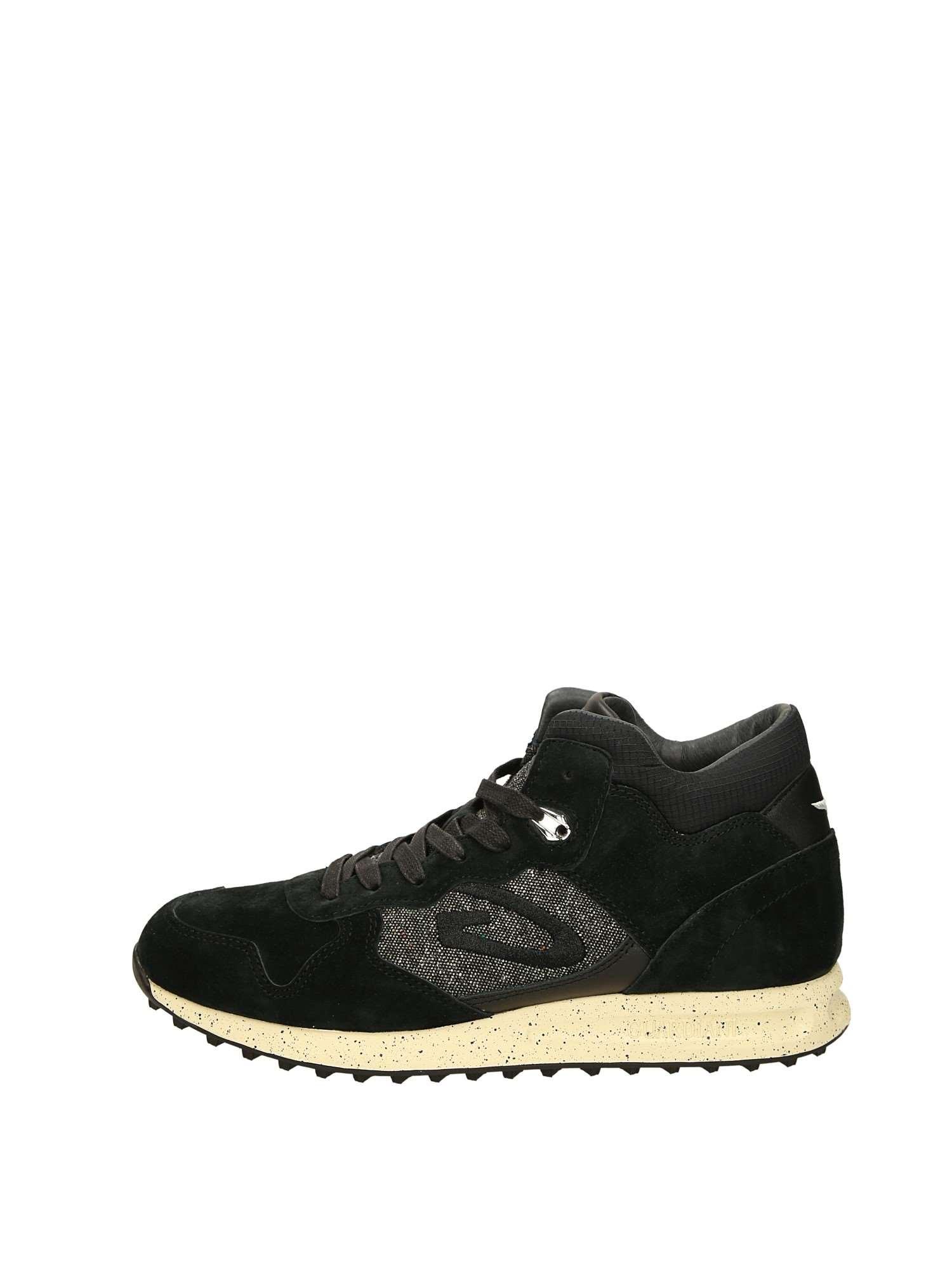 Guardiani Sneakers Alte Uomo Nero   Lalilina