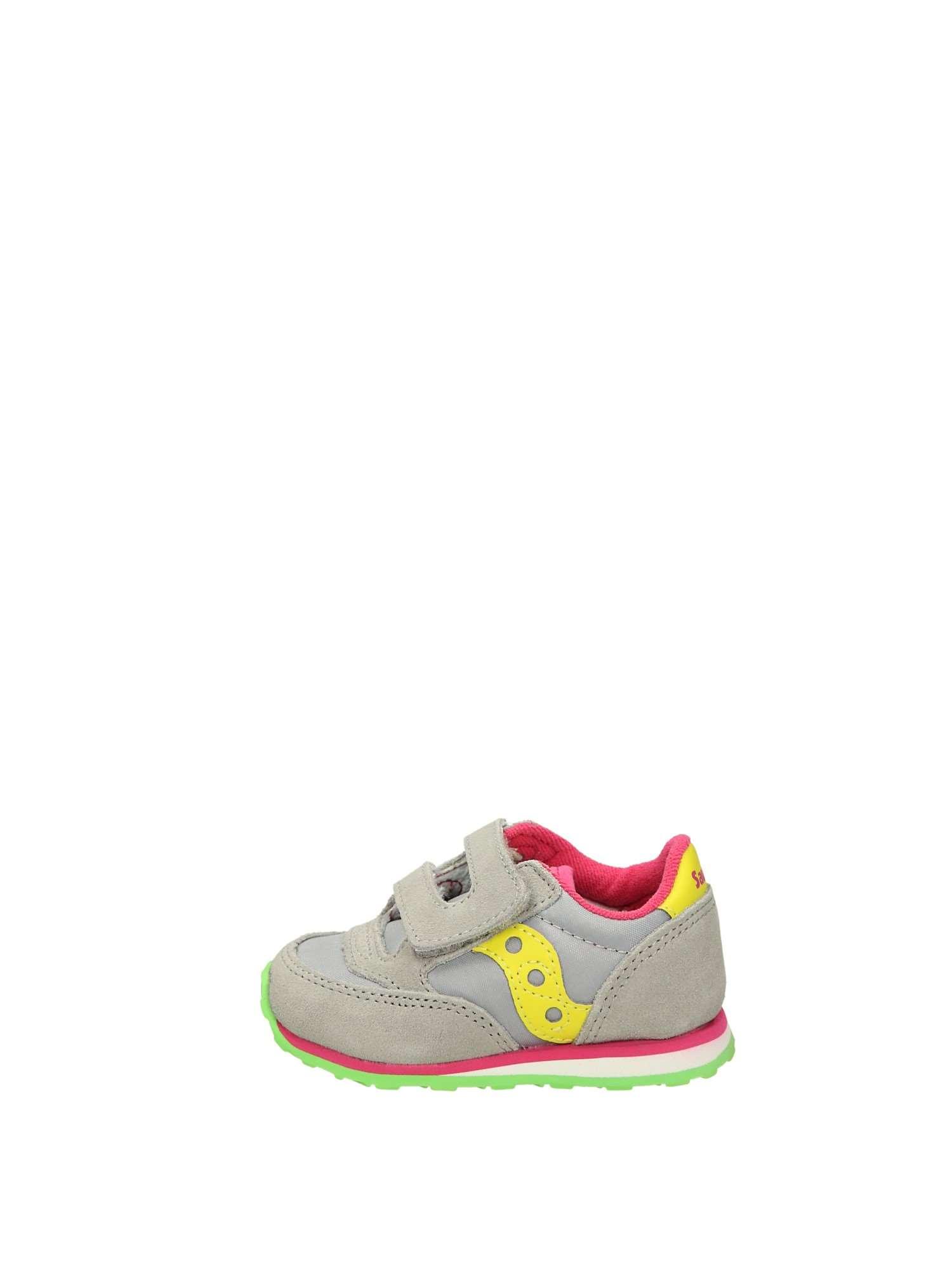 Saucony JAZZ BABY Grigio Giallo Scarpe Bambina Sneakers ecae7ea227d