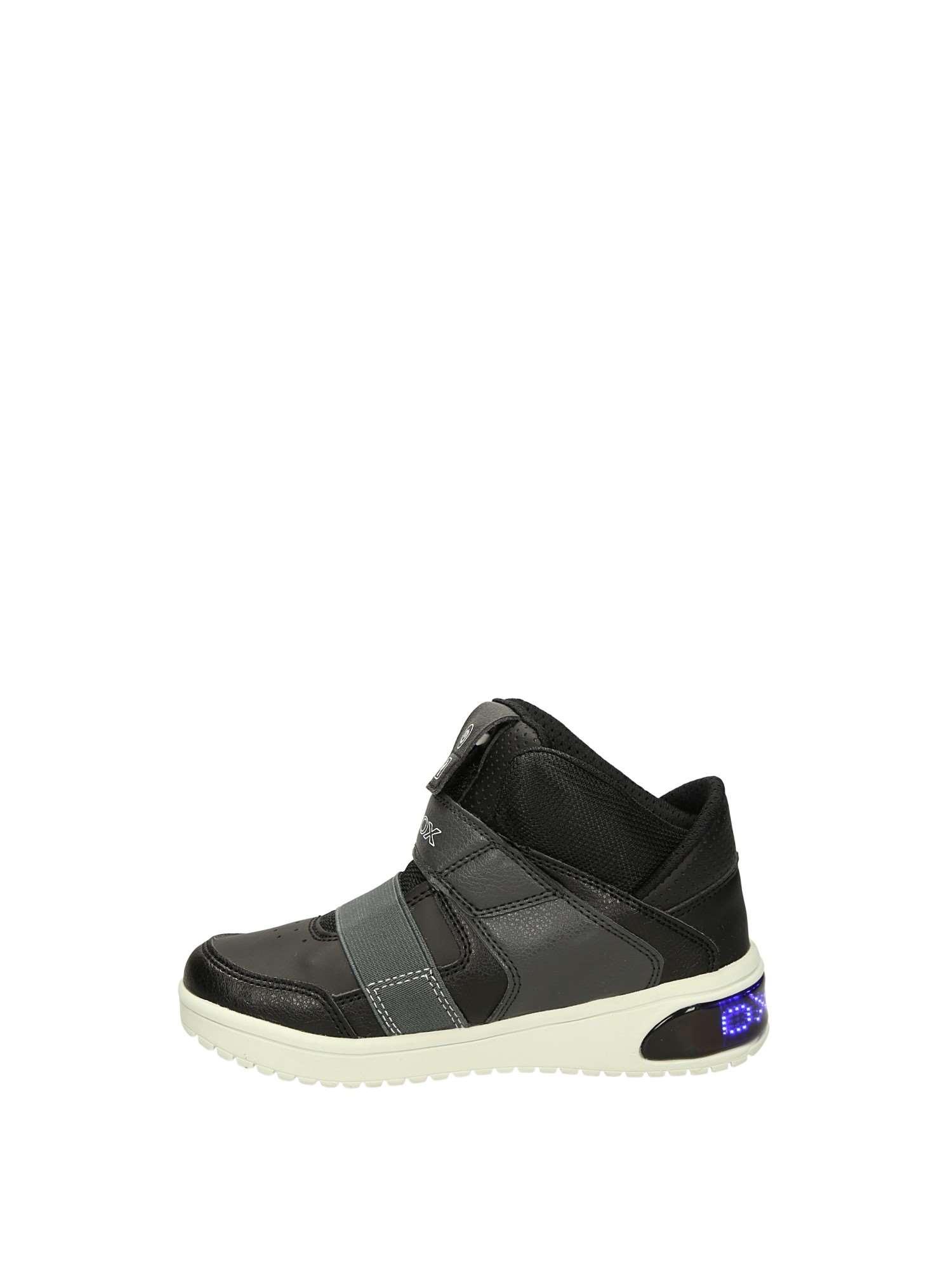 Geox J847QA Nero Scarpe Bambino Sneakers 9b77aa609ec