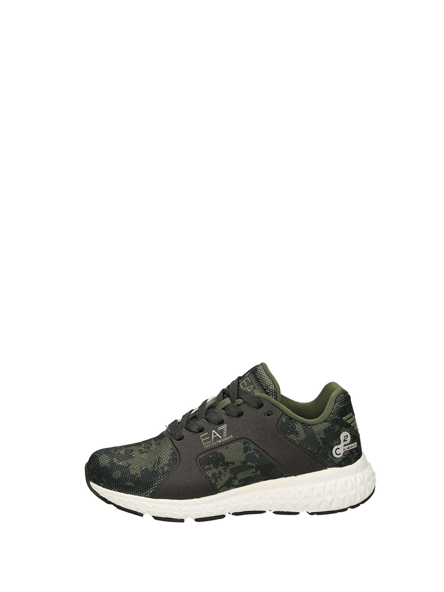 Emporio Armani XSX001 Verde Scarpe Bambino Sneakers 093912ff5db