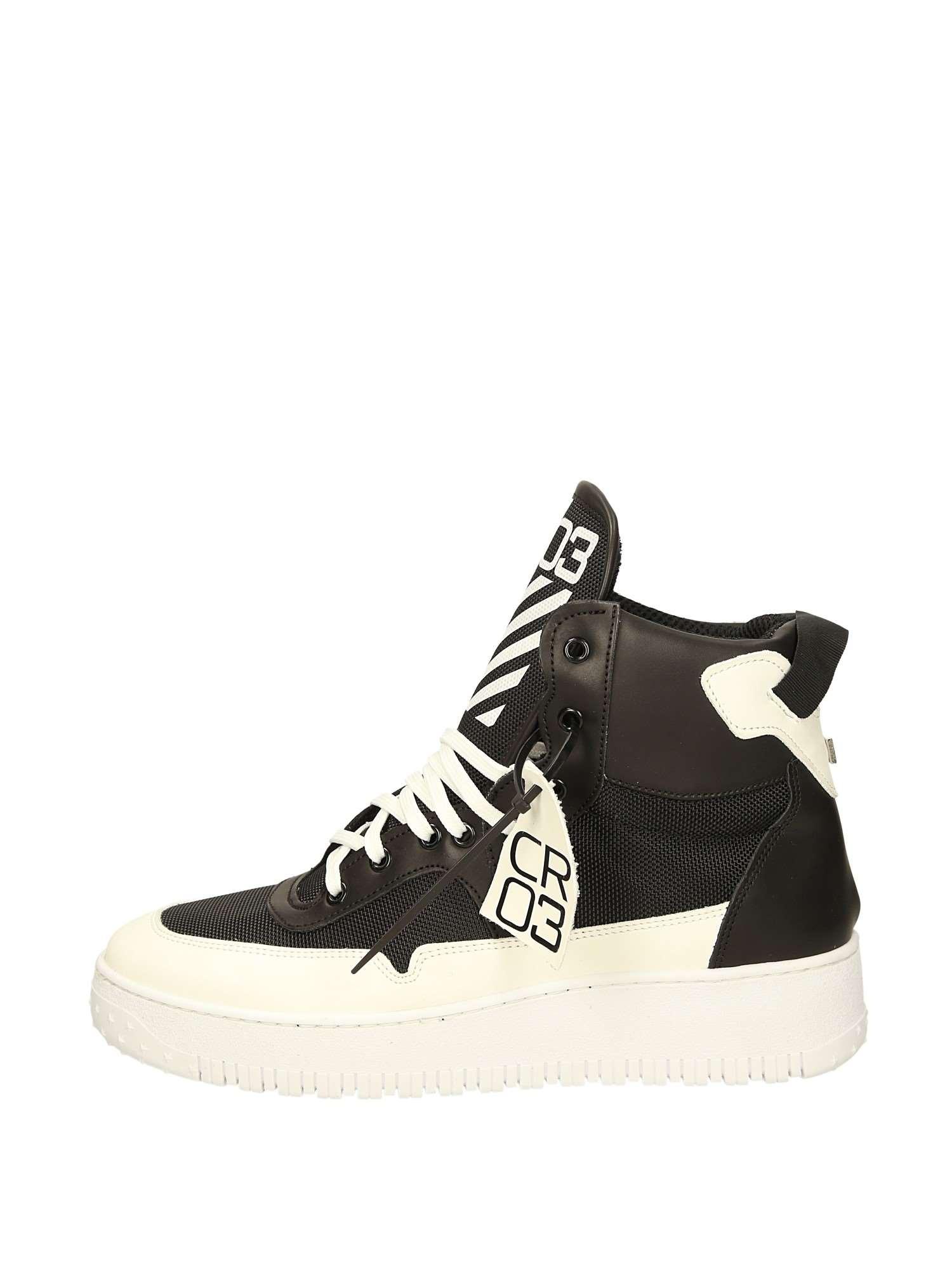 Cr03 AIR OFF VERSIONE1 Nero Bianco Scarpe Uomo Sneakers 6d0873f506c