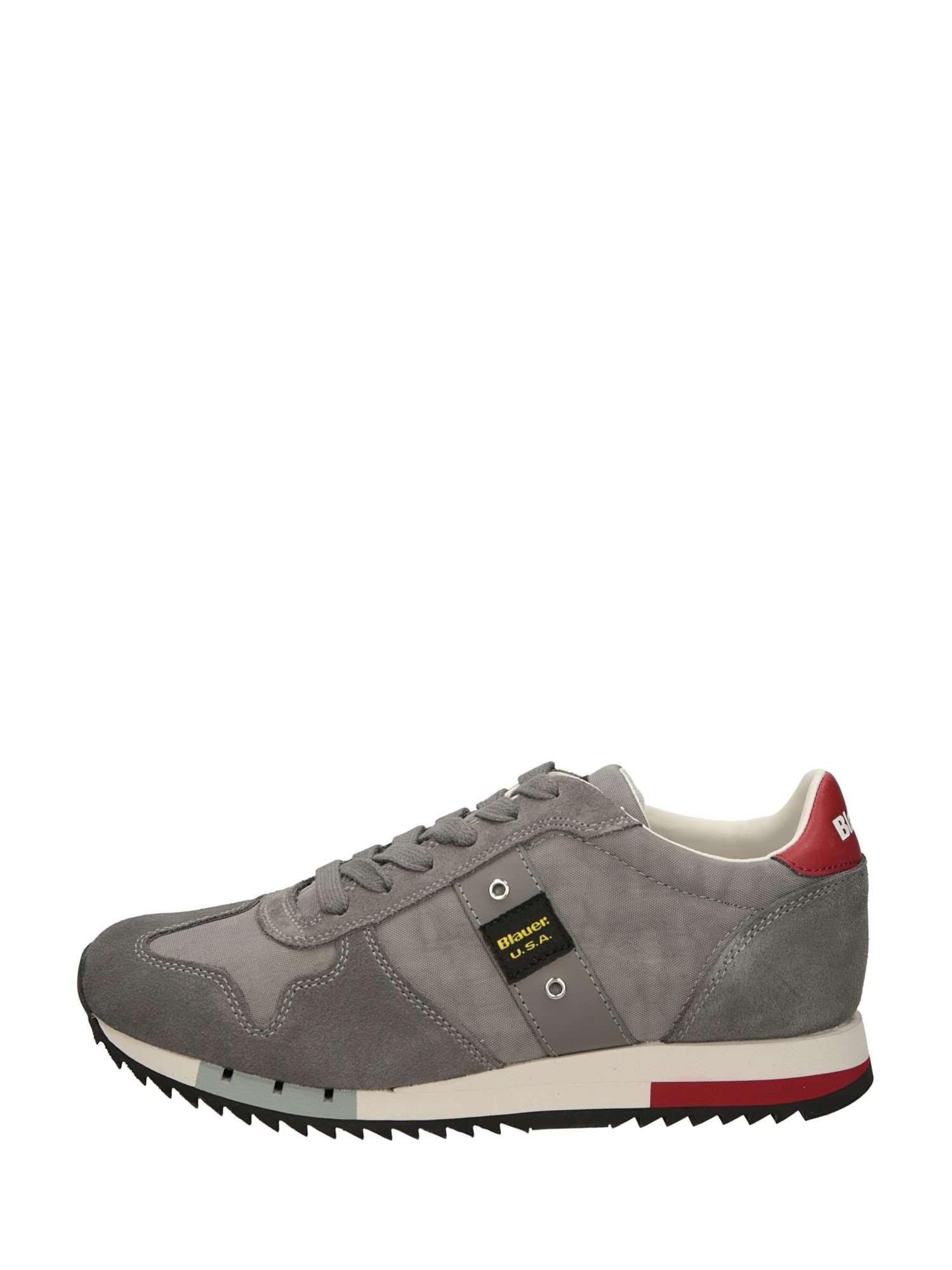 50 Grigio Blauer 50 Uomo Sneakers Basse Camoscio PxYqaTO 2d73c97608d