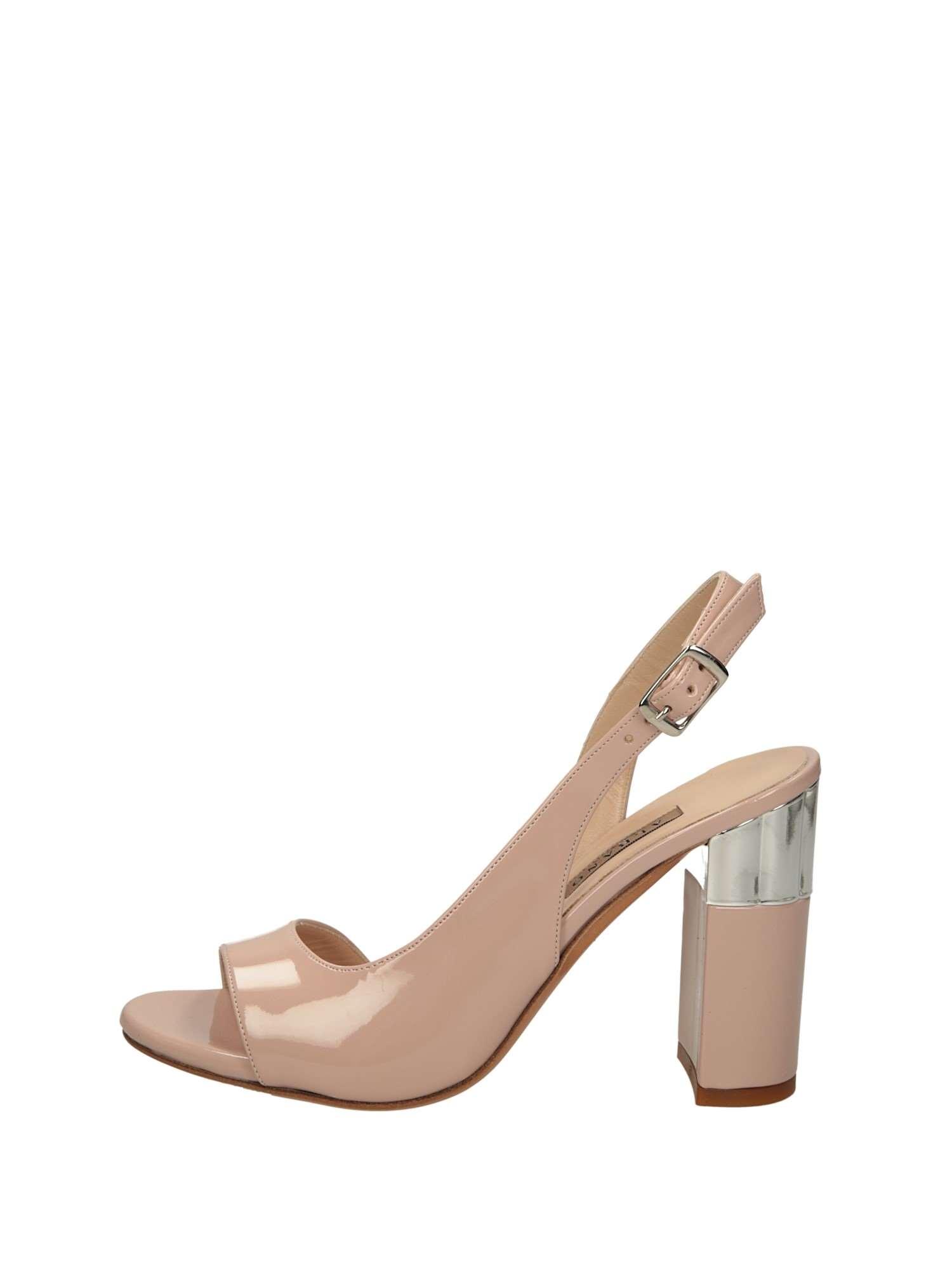 online retailer dcc12 86721 Albano Sandali Tacchi E Plateau Donna Cipria | Lalilina