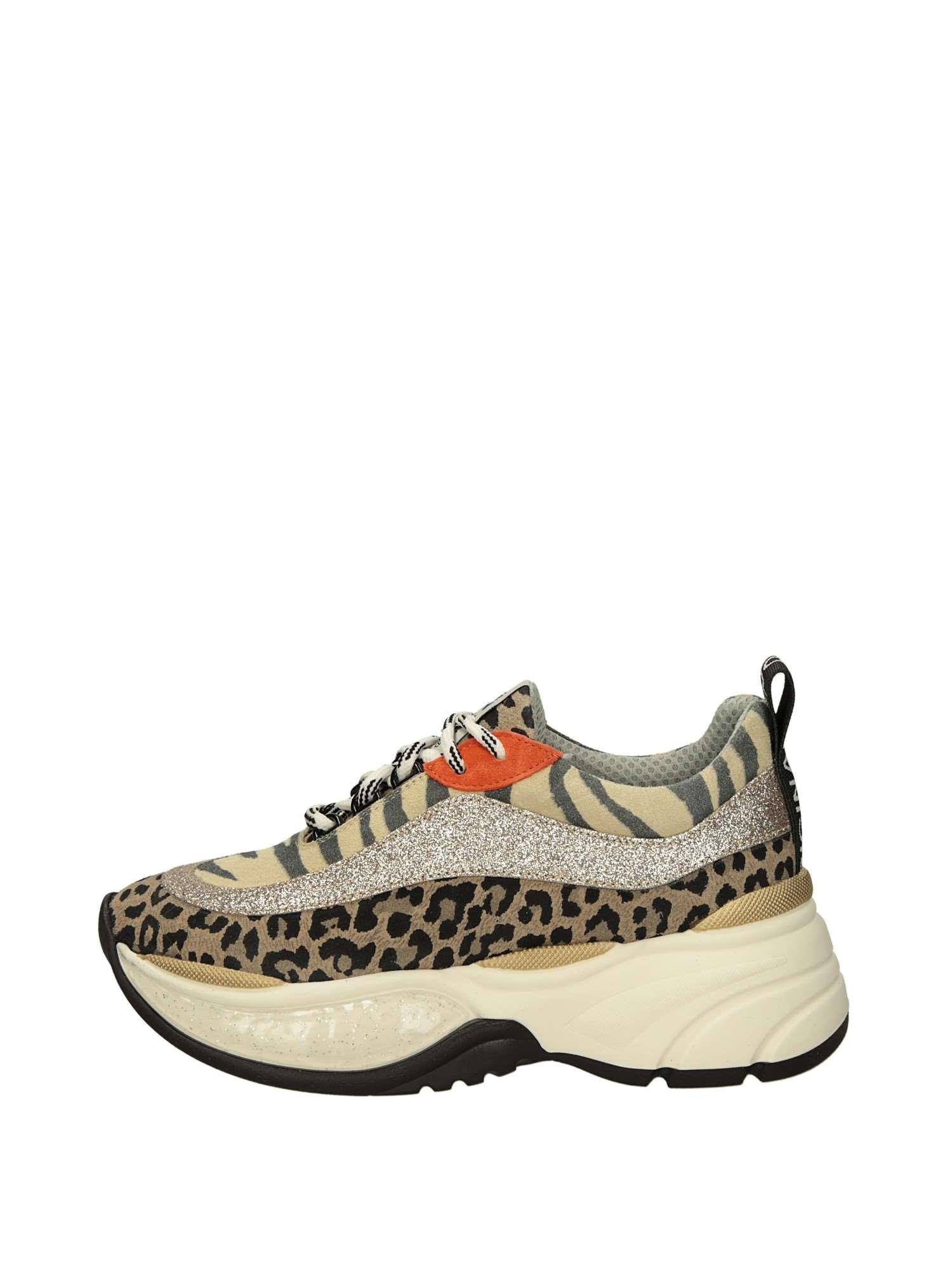 b7f4ef596 Meline Sneakers Zeppa Sabbia   Sneakers Zeppa Donna 100% Tessuto ...