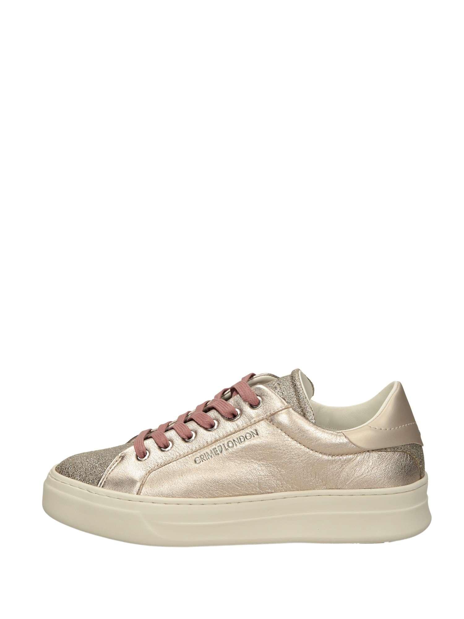 Crime London 25600 Cipria Scarpe Donna Sneakers 4217fdf4e3d