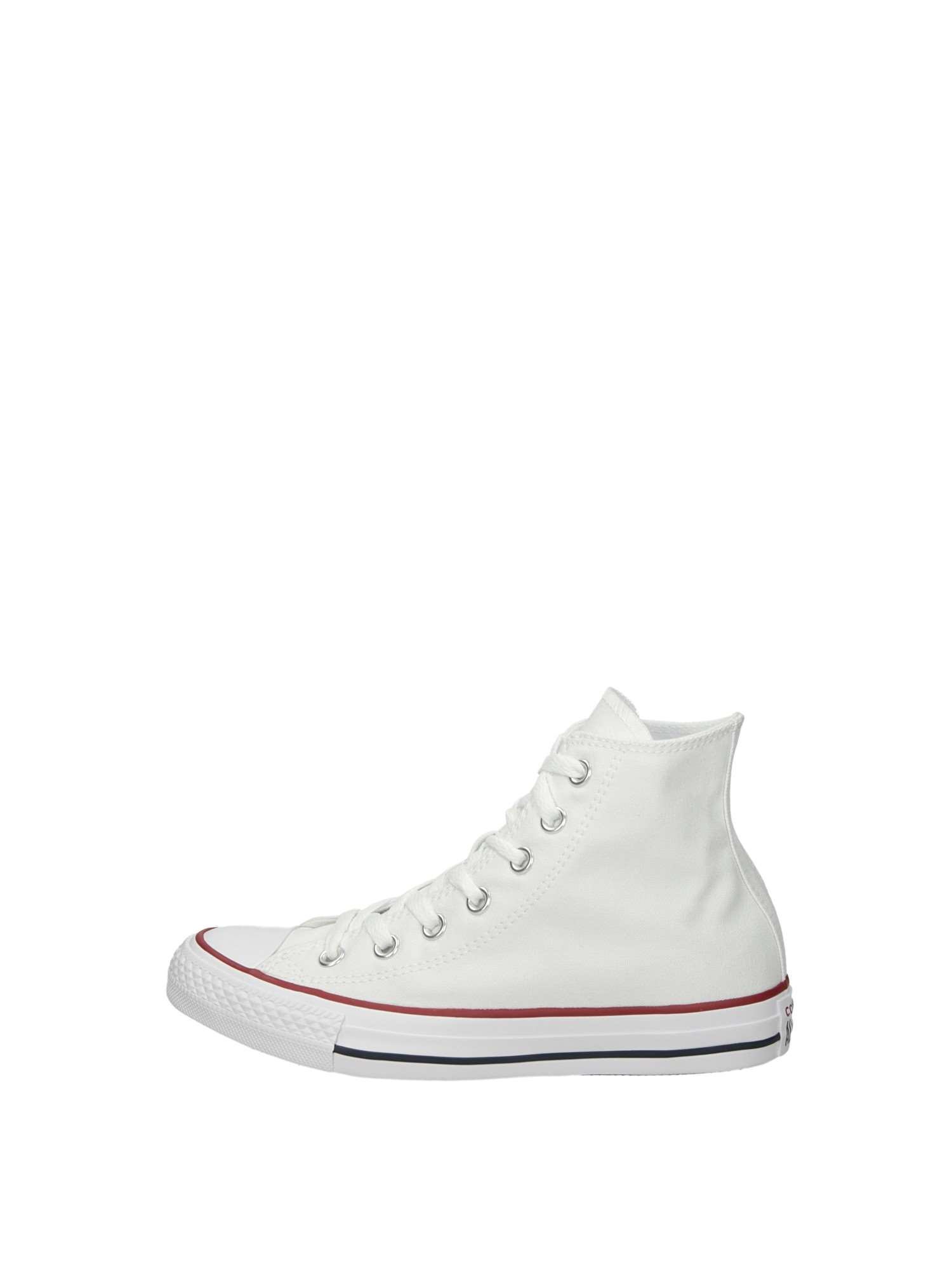 Converse Sneakers Alte Bambina Bianca   Lalilina
