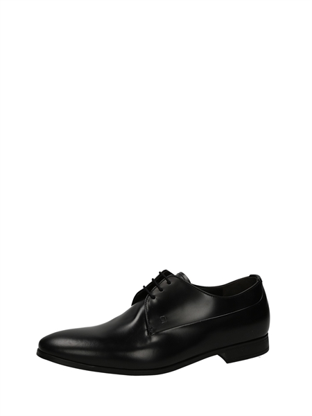 Fratelli Rossetti Lace-Up Flats Black