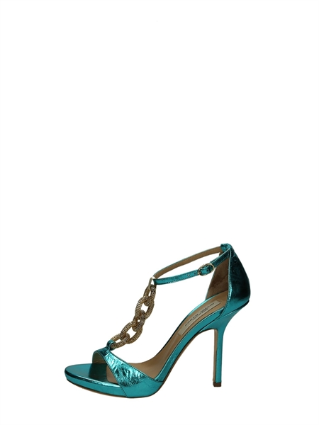 Gianni Marra Sandals Heels And Plateau Turquoise