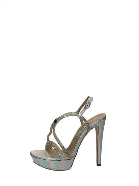 Gianni Marra Sandals Heels And Plateau Silver