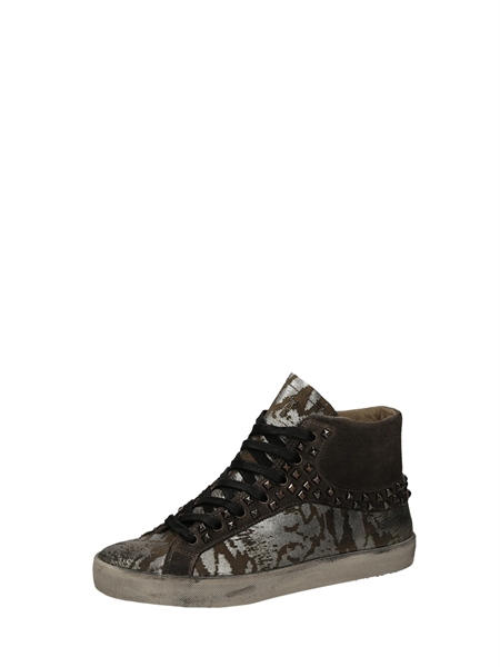 Crime London Sneakers Alte Silver