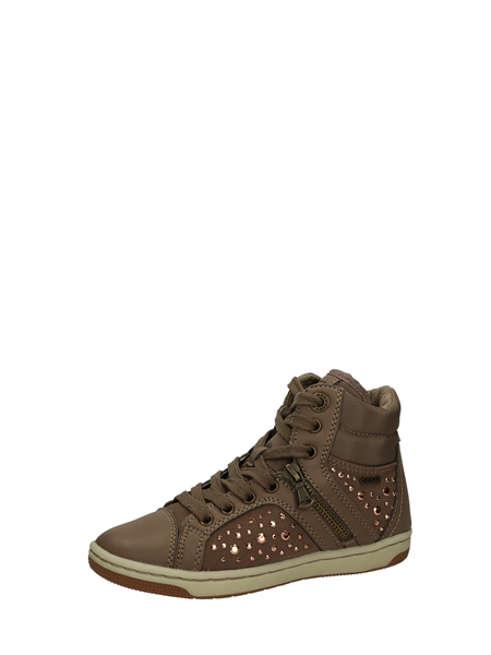 Geox High Sneakers Taupe