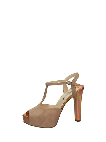 Tiffi Sandals Heels And Plateau Antique pink
