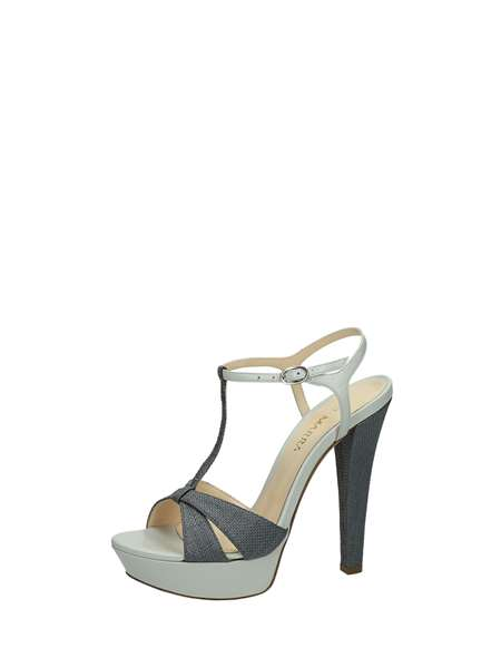 Gianni Marra Sandals Heels And Plateau Grey