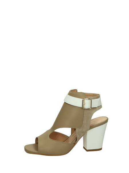 Marc Ellis Sandals Heels And Plateau Camel
