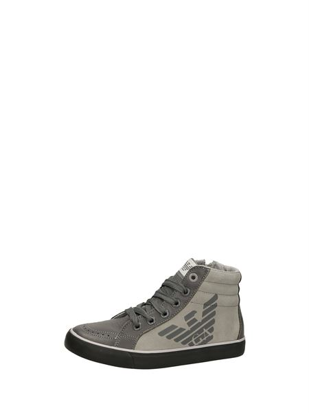 Armani Junior Sneakers Alte Grigio