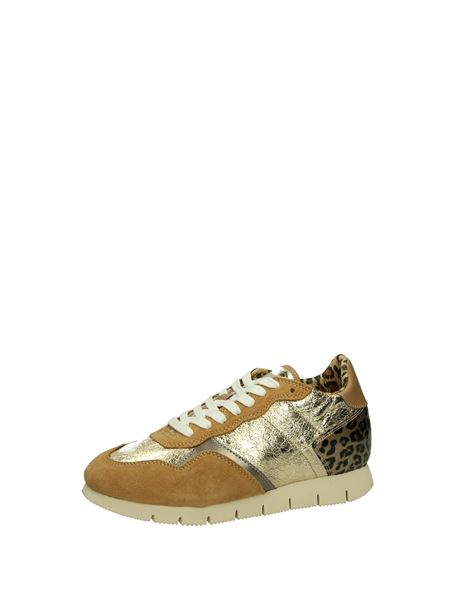 Civico 6 Low Sneakers Gold