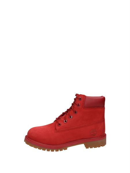 Timberland Polish Laces Red