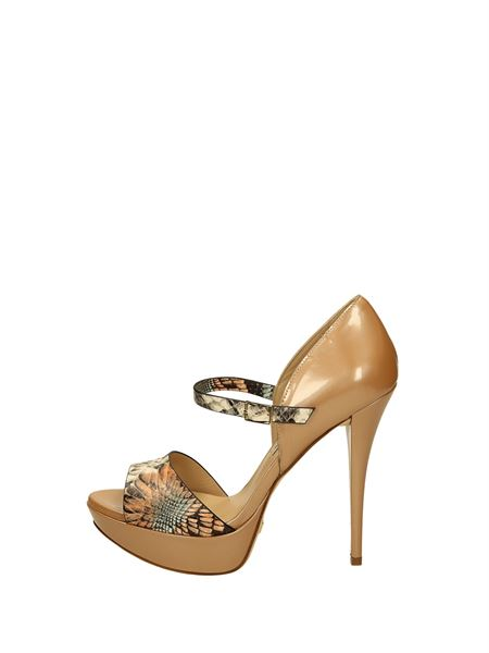 Gianni Marra Sandals Heels And Plateau Leather