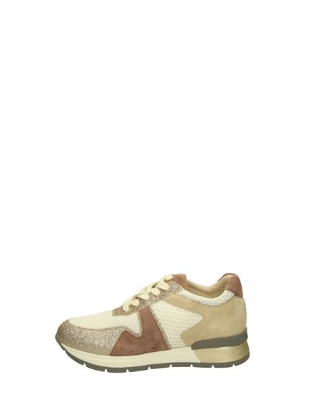 Janet&janet Low Sneakers Gold