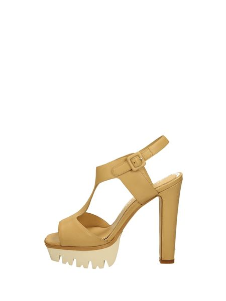 Bruno Premi Sandals Heels And Plateau Leather