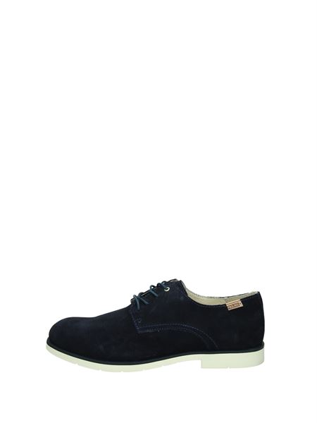 Pikolinos Lace-Up Flats Blue