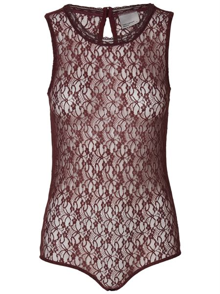 Vero Moda Top Bordeau