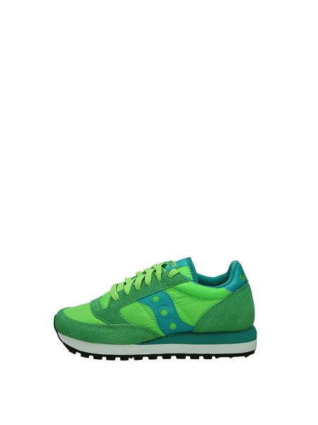 Saucony Low Sneakers Fluo green