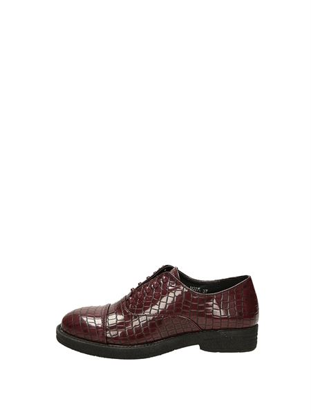 Francesco Milano Slip On Bordeau