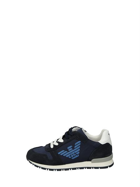 Armani Junior Sneakers Basse  Blu