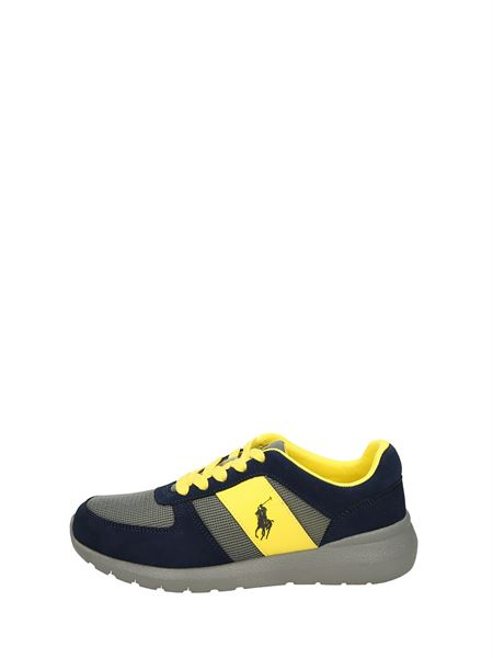 Polo Ralph Lauren Low Sneakers Blue Yellow