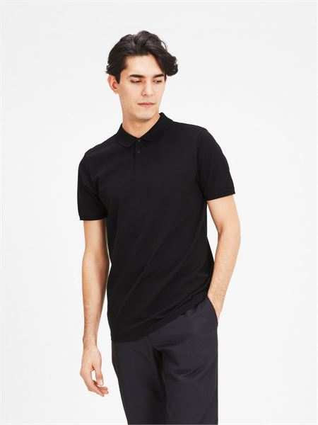 Jack&jones Premium Polo shirt Black