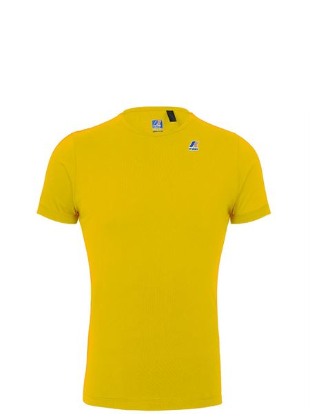 K-way Tshirt Giallo