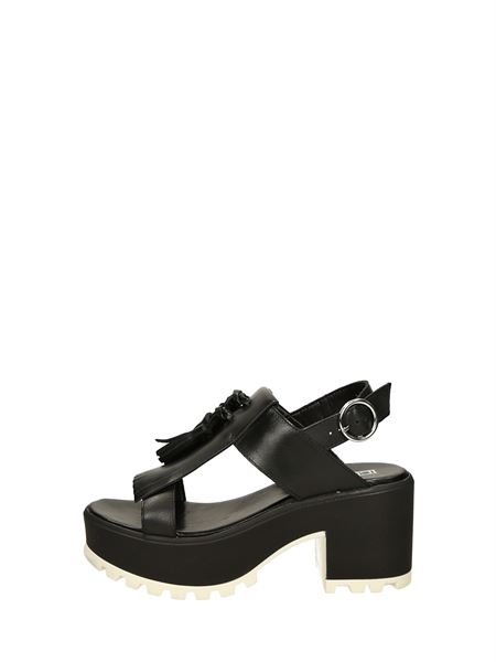 Cult Sandals Heels And Plateau Black