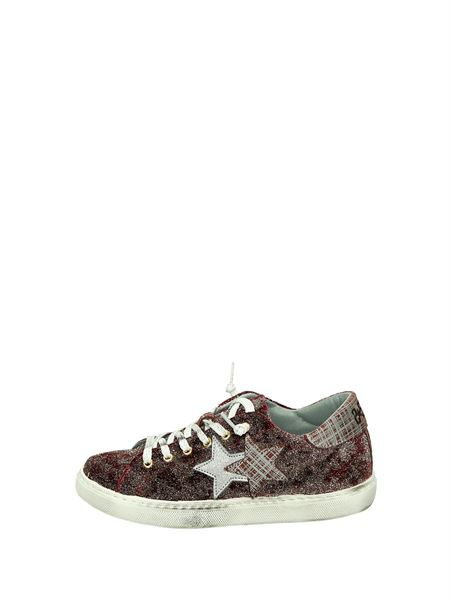 2star Sneakers Basse  Bordeau