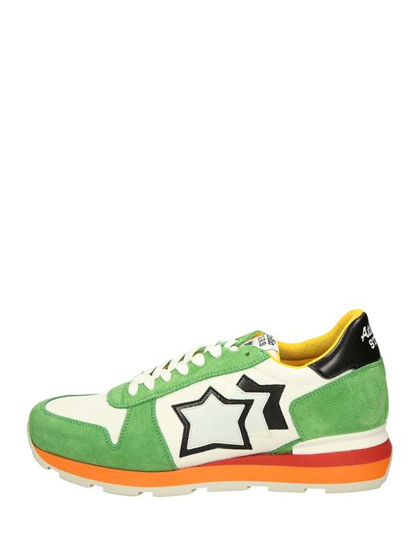Atlantic Stars Low Sneakers White green