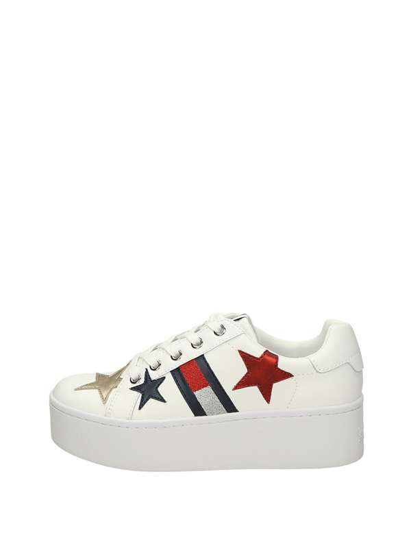 Tommy  Hylfiger Sneakers Basse  Bianco