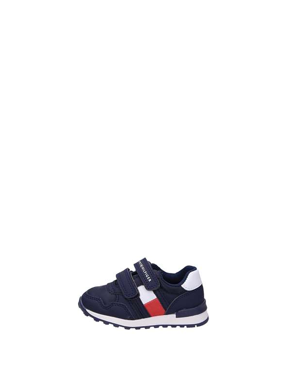Tommy  Hylfiger Sneakers Strappo Blu