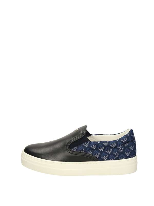 Armani Junior Slip On Blu