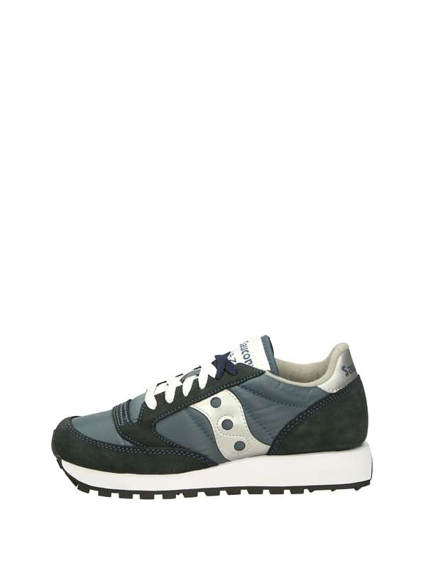 Saucony Low Sneakers Blue  silver