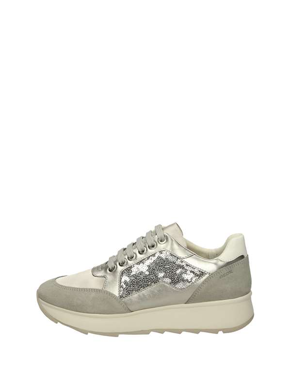 Geox Sneakers Basse  Argento
