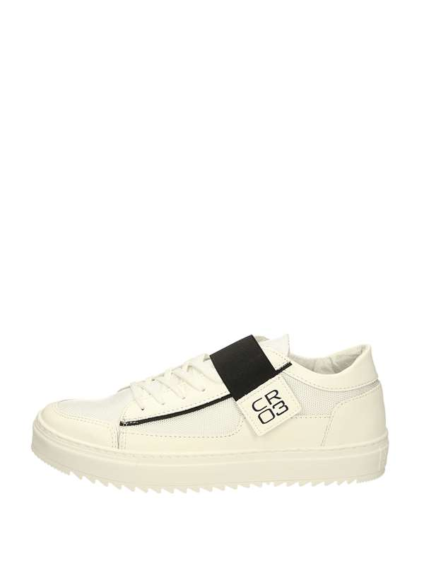 Cr03 Sneakers Basse  Bianca