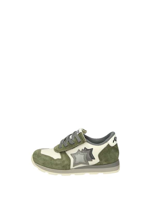 Atlantic Stars Sneakers Basse  Bianco Verde